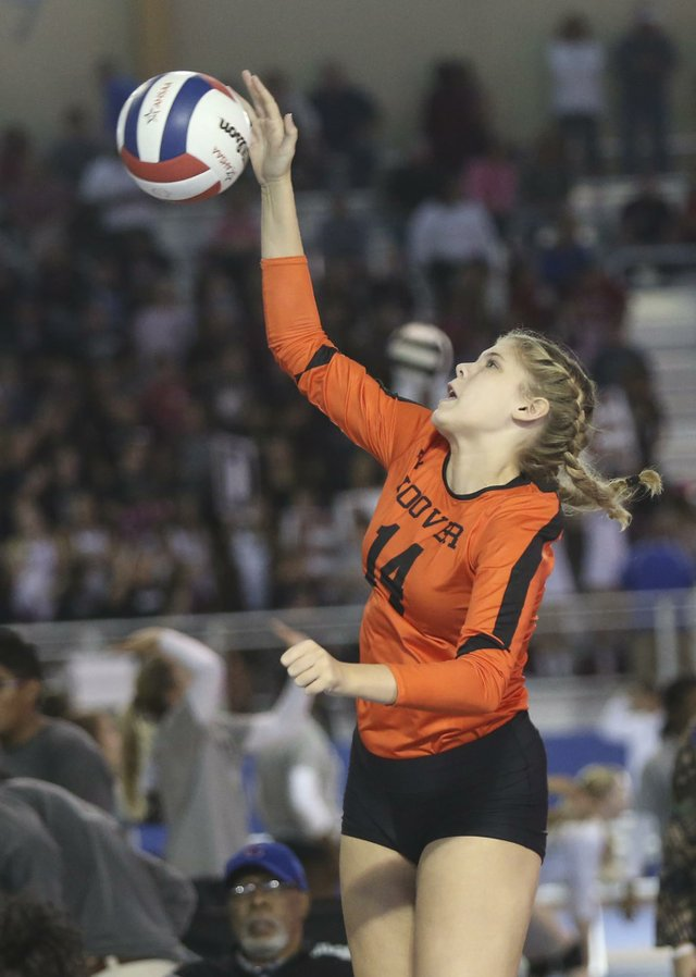 Hoover Volleyball QuarterFinals 2016