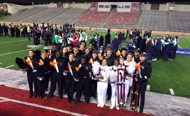 Hoover Bucs Marching Band 10-22-16