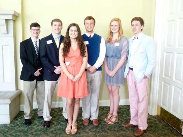 Hoover service club high school awards