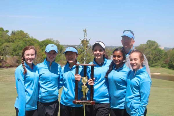Berry middle school golf state champs