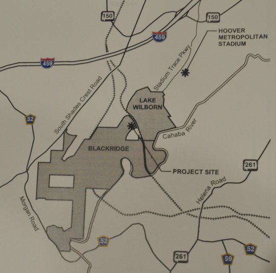 Blackridge cell tower map