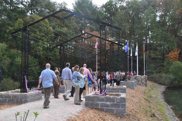 Veterans Memorial Arbor 18
