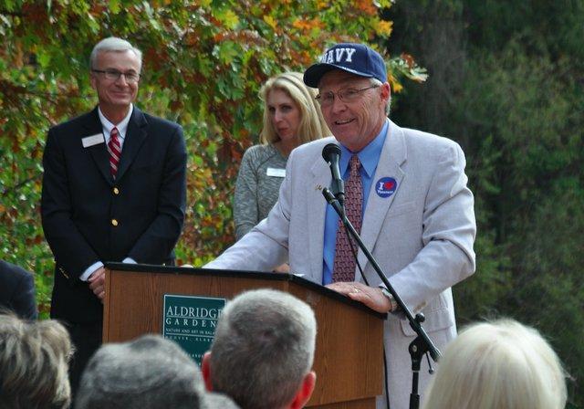 Veterans Memorial Arbor 3