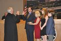 Mike Shaw swearing in