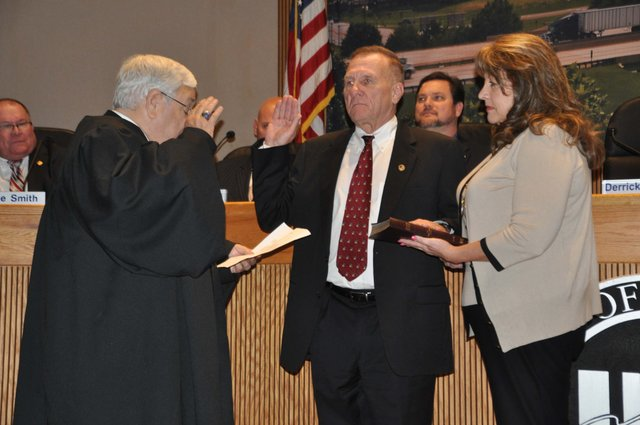 John Greene swearing in