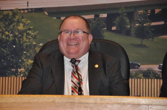 Gene Smith council president