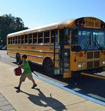 Hoover school bus