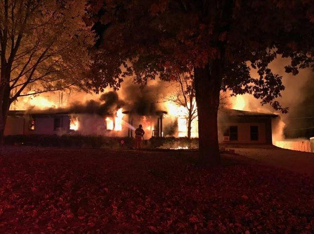 Buchanan house fire 1