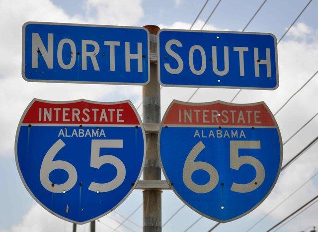 I-65 Sign