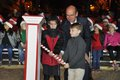 Hoover Christmas tree lighting 2016-12