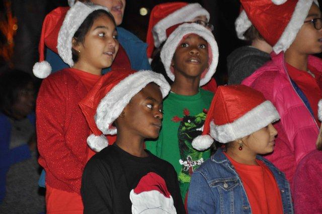 Hoover Christmas tree lighting 2016-17