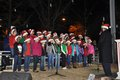 Hoover Christmas tree lighting 2016-19