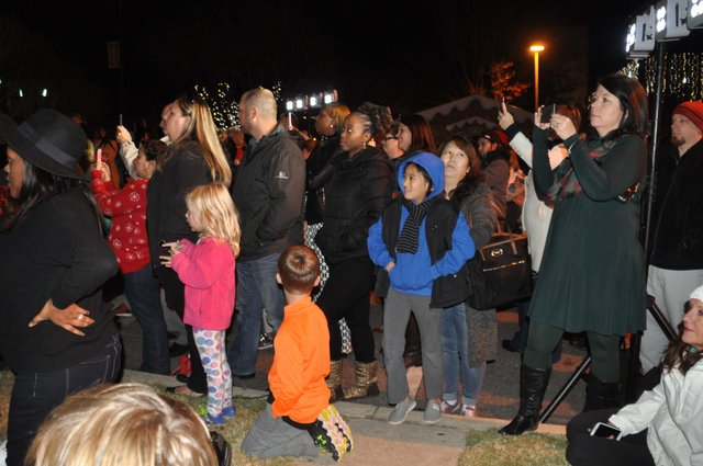 Hoover Christmas tree lighting 2016-20