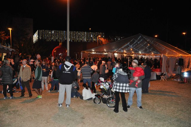 Hoover Christmas tree lighting 2016-48