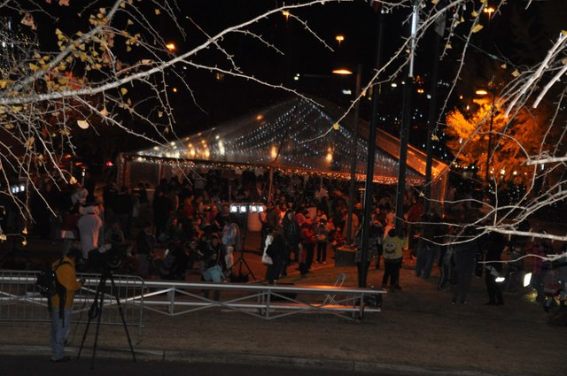 Hoover Christmas tree lighting 2016-59