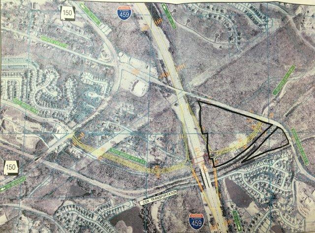 Interstate 459 interchange 2007 plan