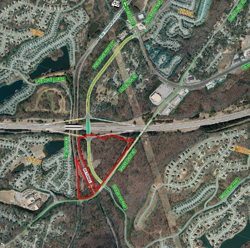 I-459 interchange map 12-5-16