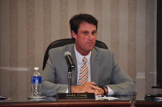 Superintendent Andy Craig