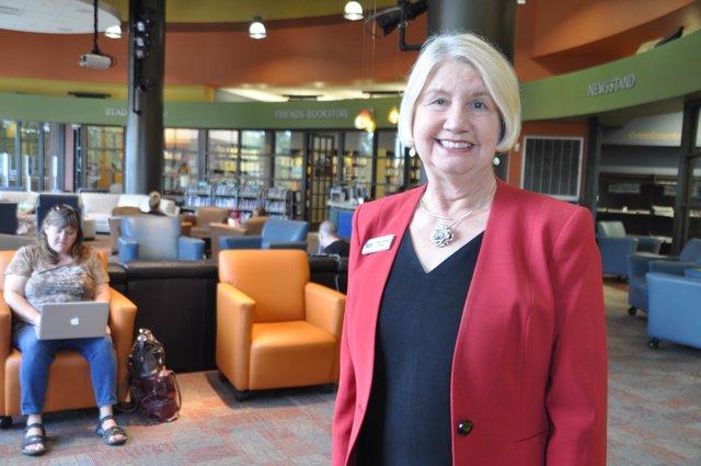 Linda Andrews Library Plaza