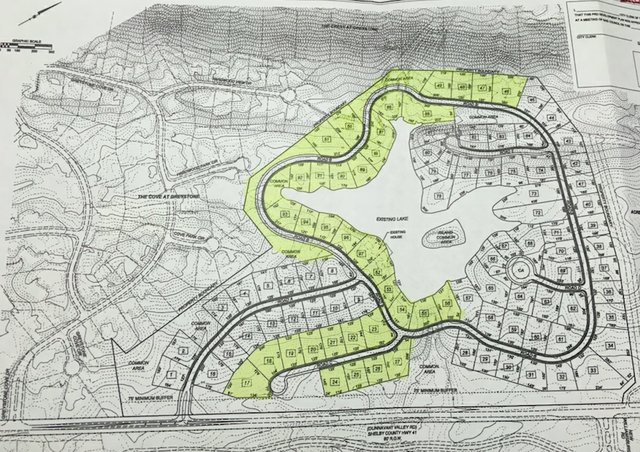 Brock Point Phase 1B map