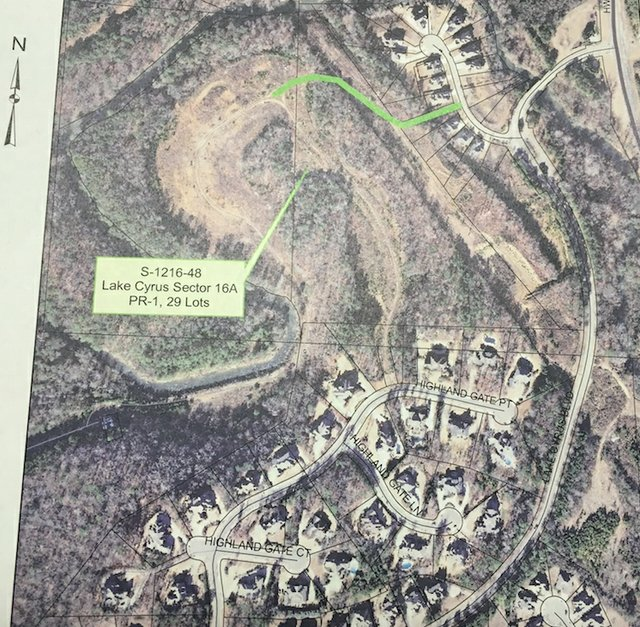 Lake Cyrus Sector 16-A map