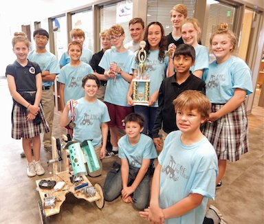 Prince of Peace robotics team