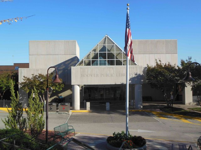 Hoover Public Library Oct 2015
