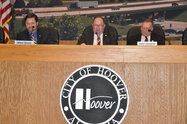 Hoover City Council 11-7-16