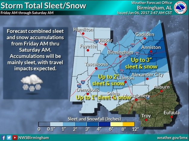 Snow projection map 1-6-17 3-47 am
