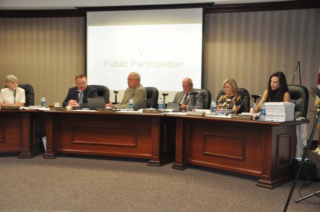 Hoover school board 9-12-16