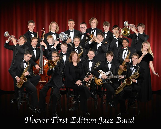 First Edition Jazz Band 2016-17