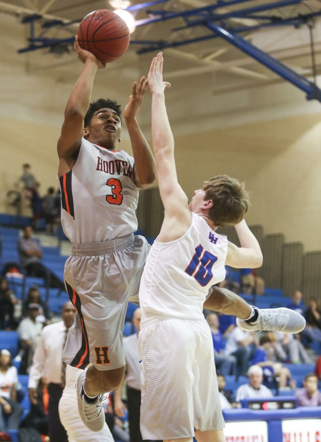 Vestavia VS Hoover Boys Basketball