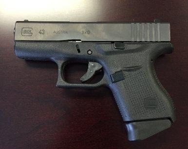 9mm Glock handgun