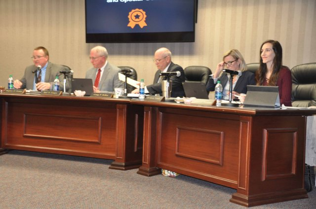 Hoover school board 1-10-17