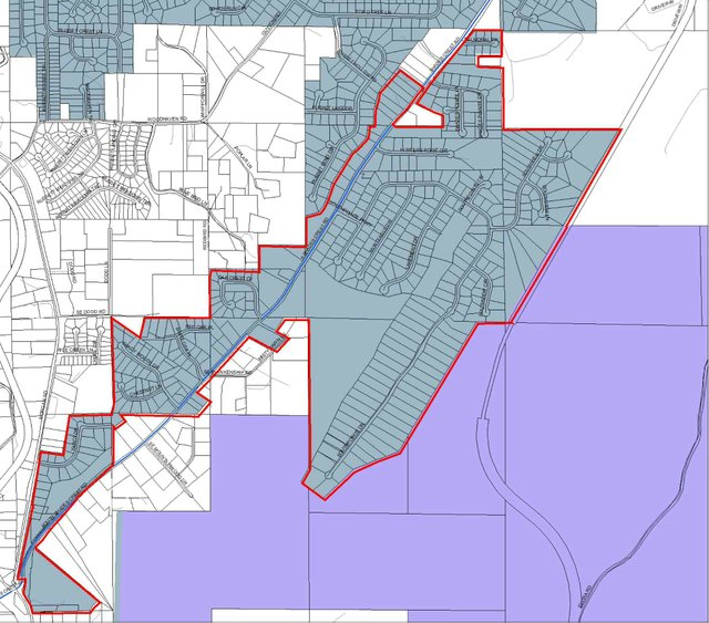 students in the Woodlands and Grand Oaks areas might have to move from South Shades Crest to Trace Crossings.