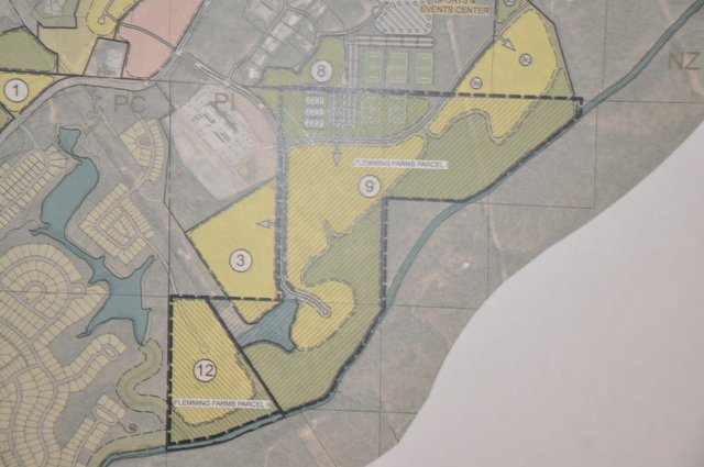 Trace Crossings annexation