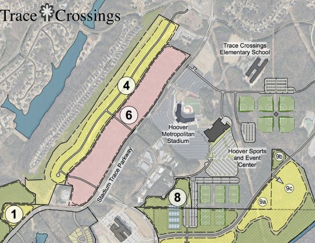Trace Crossings amendment commercial land