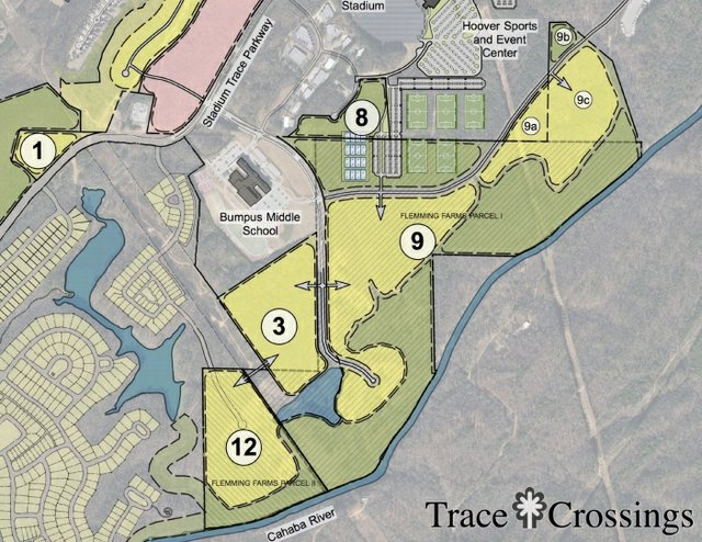 Trace Crossings amendment annexation