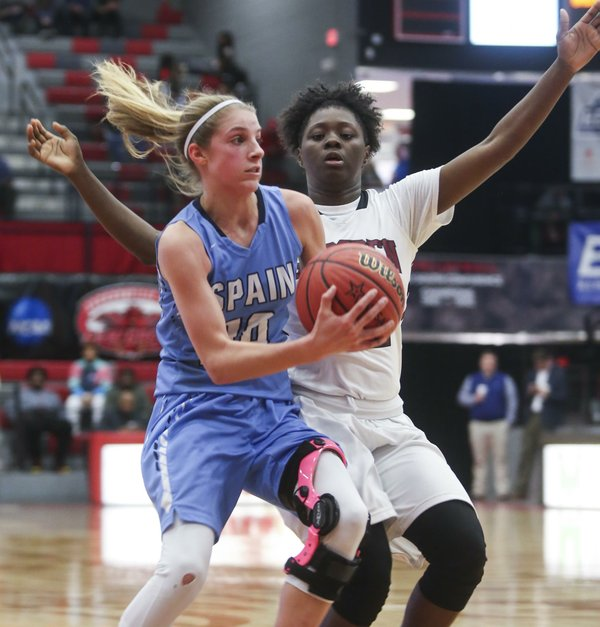 SPHS girls basketball VS Gadsden City 2017