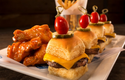 Dave and Buster's food