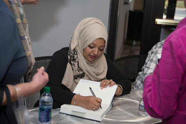 Southern Voices Chaudry autograph