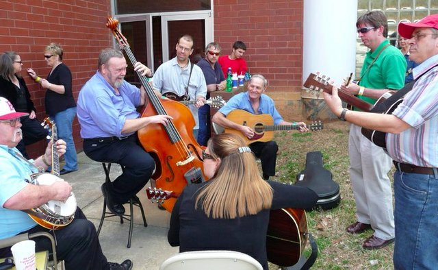 bluegrass jam showcase 2011