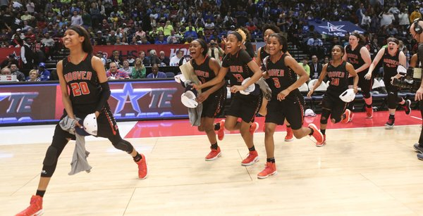 Hoover vs Spain Park Girls Basketball Championship 2017