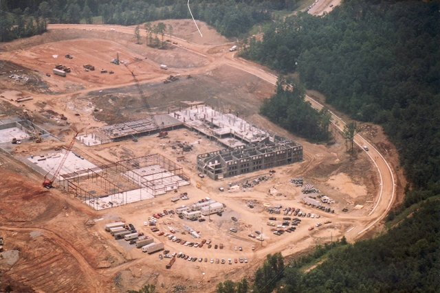 Hoover High construction June 1993-2.jpg