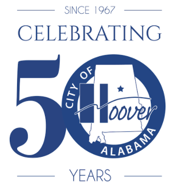 Hoover 50th logo