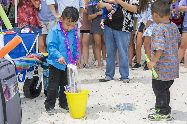 Make-A-Wish beach trip 2