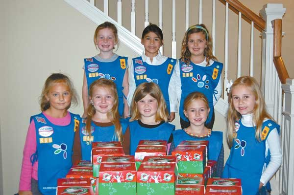 12 Girl Scout Troop