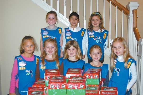 12 Girl Scout Troop