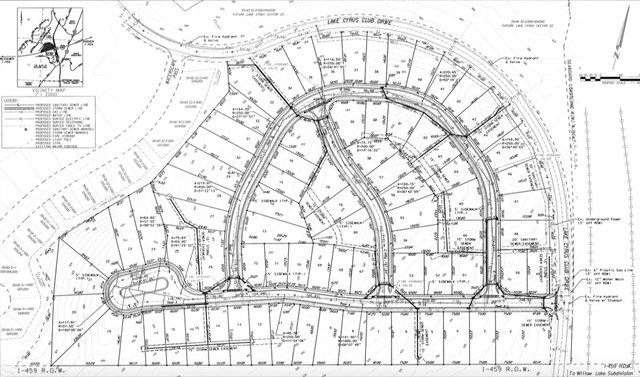 Lake Cyrus Sector 21 layout