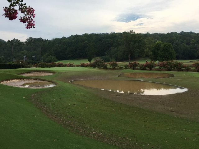 Hoover Country Club flooding 7-26-17